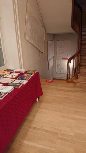 Buchausstellung Stadtbibliothek im 1. Stock
