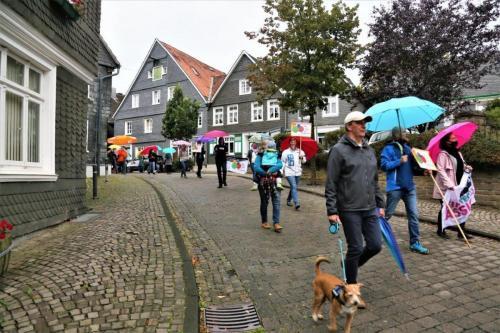 Sechste Mahnwache, 3. September 2020